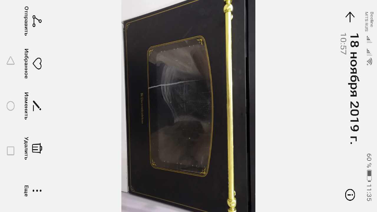 Духовой шкаф Electronicsdeluxe как снять дверцу