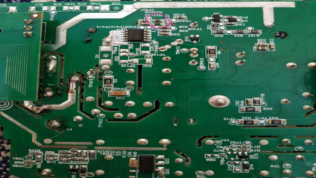 Помогите опознать резисторы сма candy cs1061