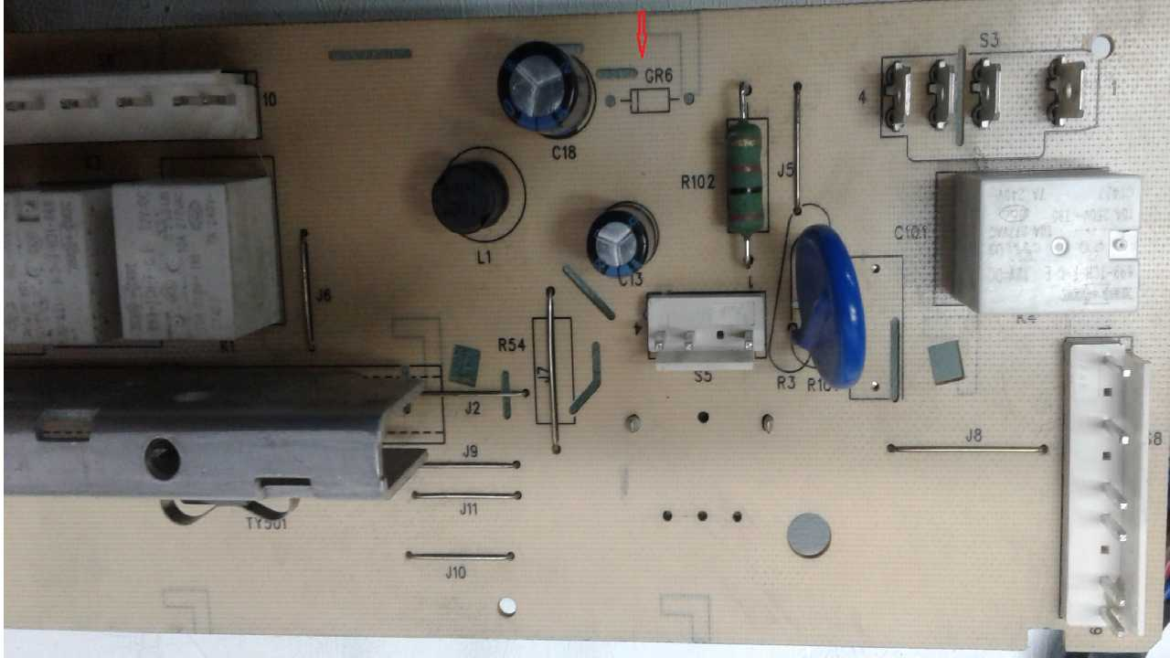 Сма DWD -MH1011 S/N WZ14YW64020007 ........Опознать диод на модуле AKO 764368-01