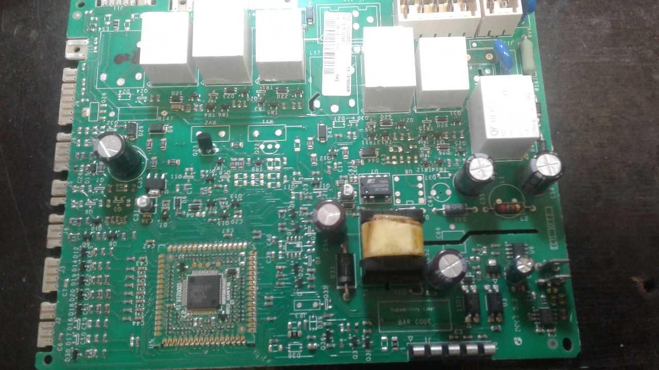 Сушильная машина ARISTON AQC9BF7T опознать элементы