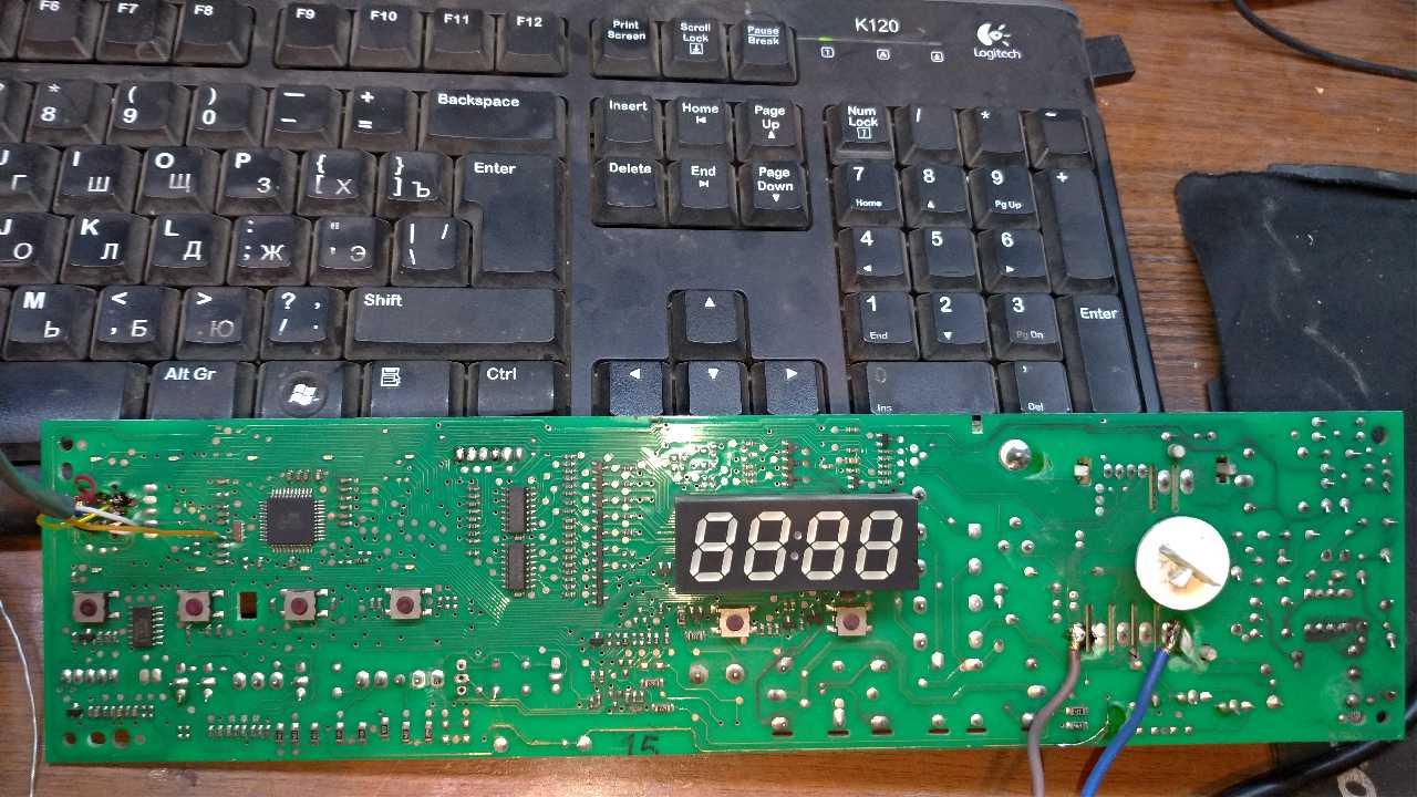 СМА BEKO model WMD 66106 S нужна прошивка