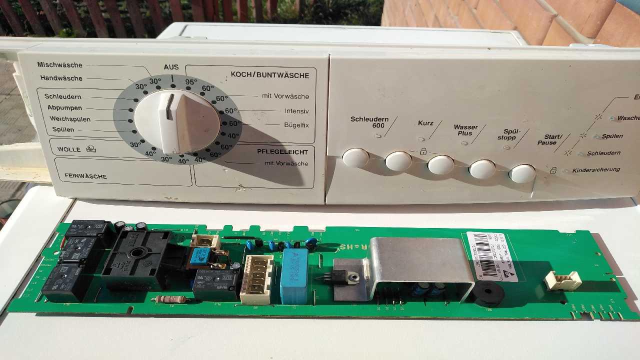 СМА Privileg 412 6 kg не реагирует на кнопку Пуск.