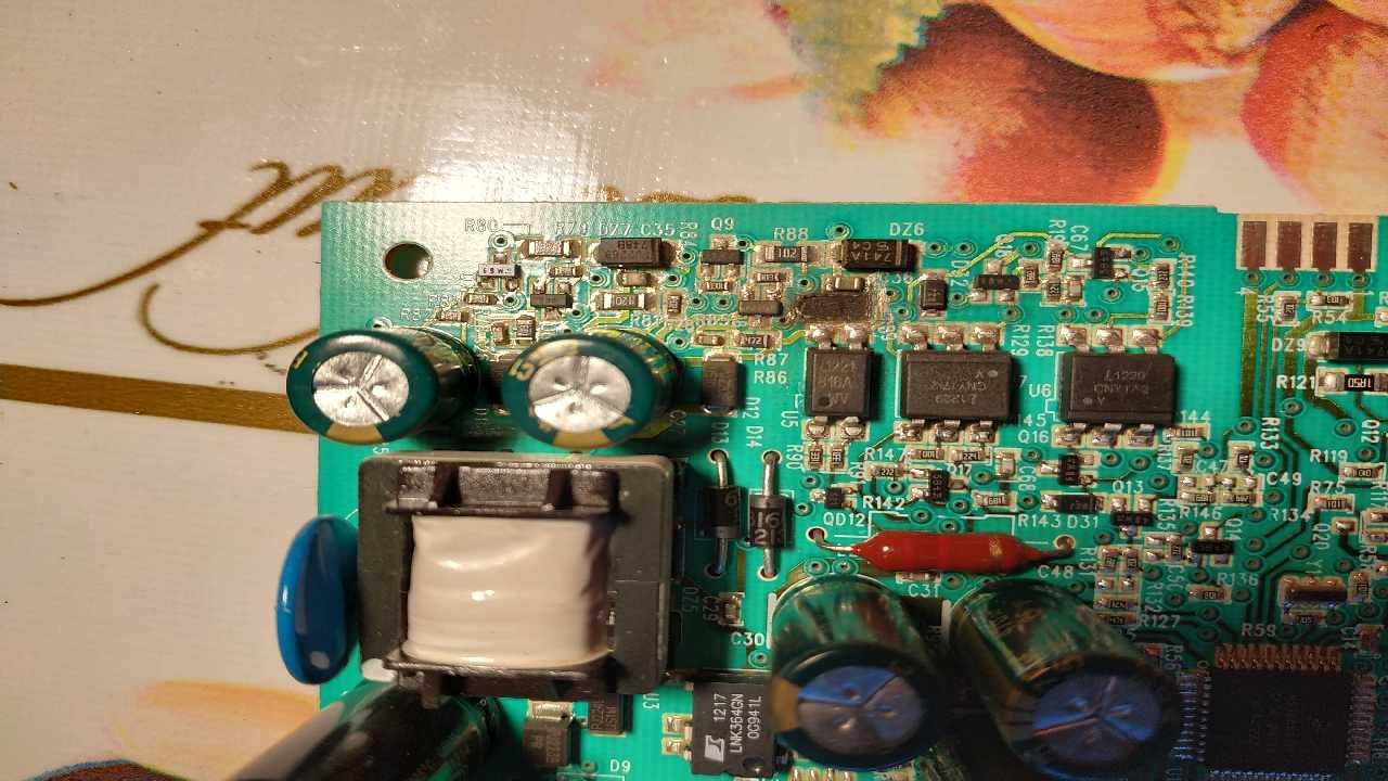 Electrolux EWS1277 FDW Выгорел резистор.