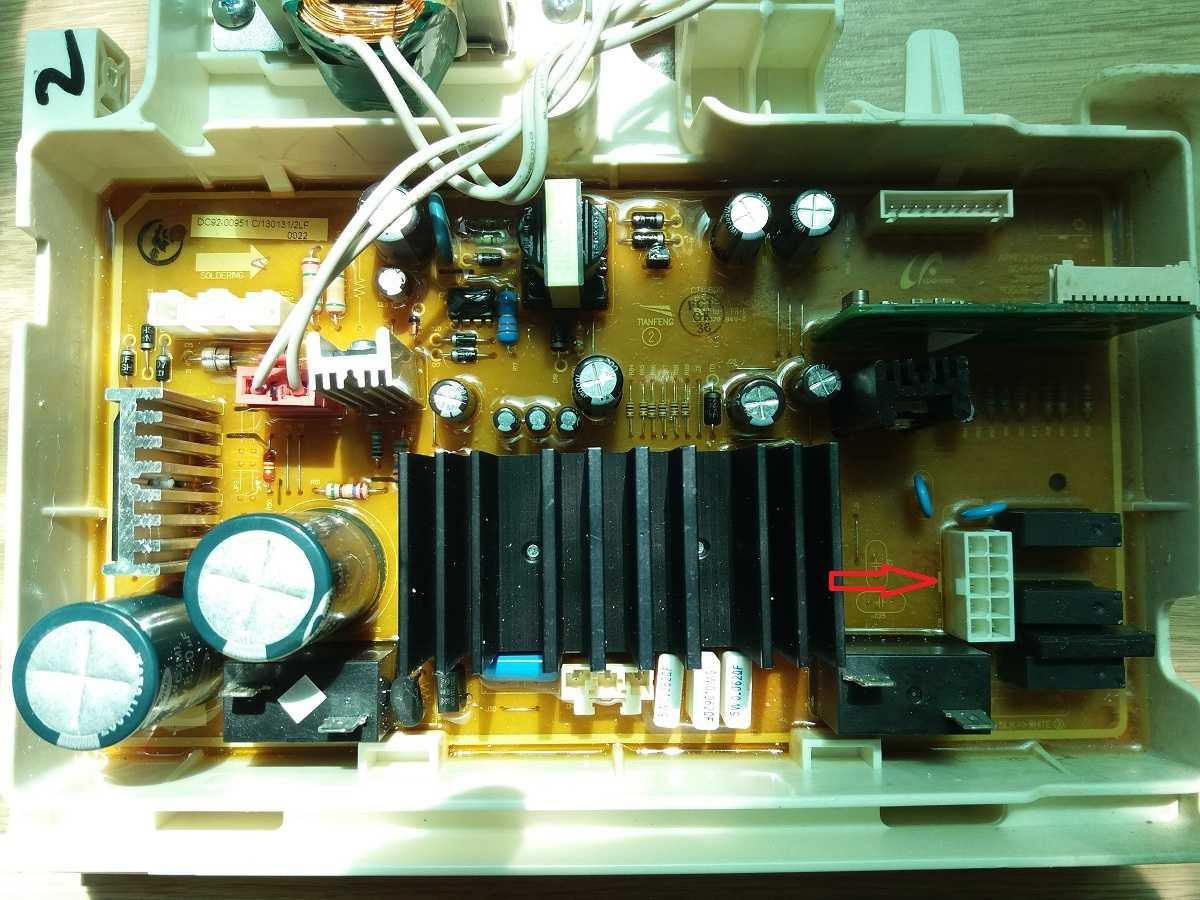 Модуль DC41-000189A распиновка разъема CN5