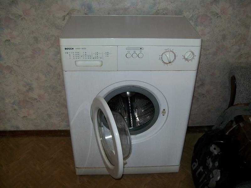Как открыть дверь стиральной машины Bosch wmv 1600