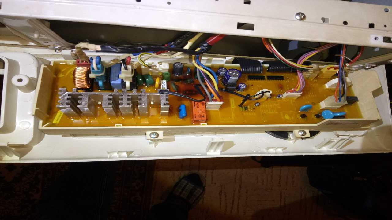 Куплю электронный модуль для стиральной машины Samsung WF6450S7W