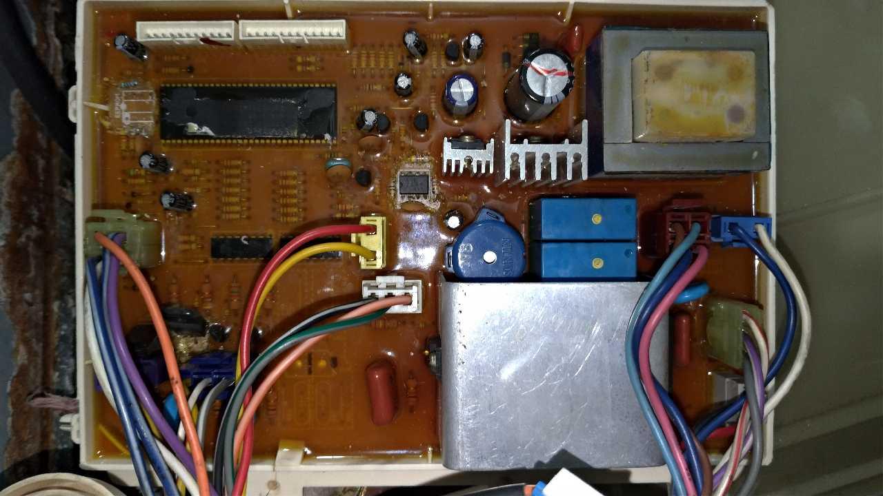 Стиральная машина автомат LG WD-1050F нужна номер еепром.
