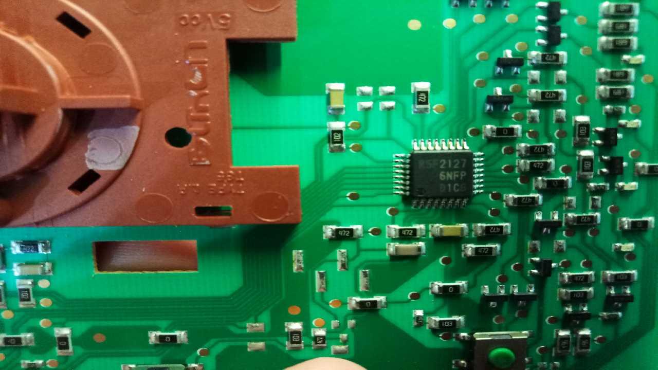 СМА аристон WMUL5050CIS сгорел процессор панели управления.