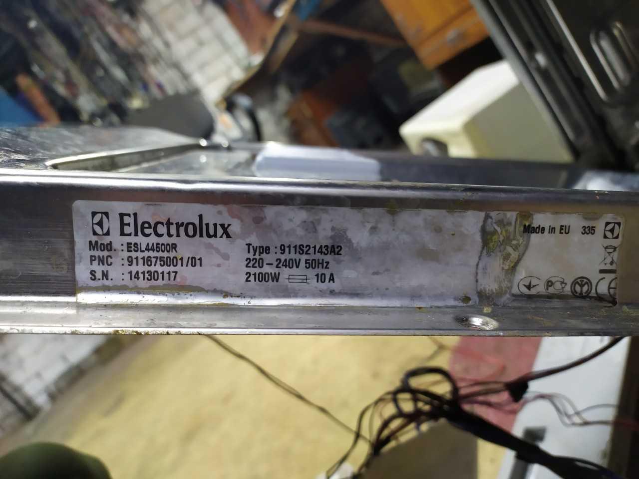 Добрый вечер!нужна прошивка процессора посудомоечная машина Electrolux ESL44500r