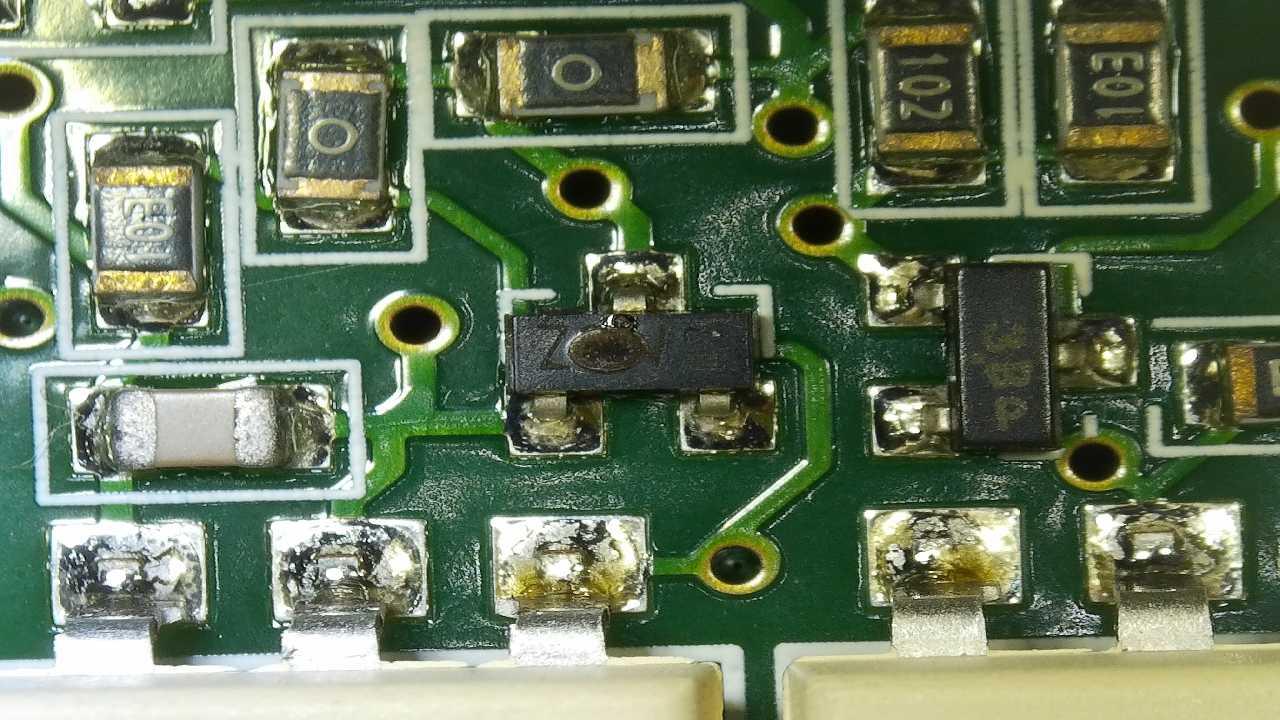 СМА BOSCH WAS24443OE/01 FD9011200110 опознать транзистор