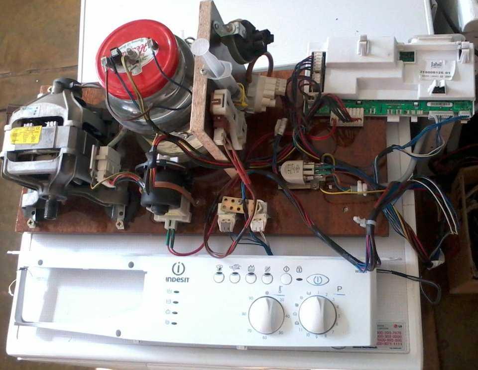 Стенд для проверки модулей управления стиральными машинами