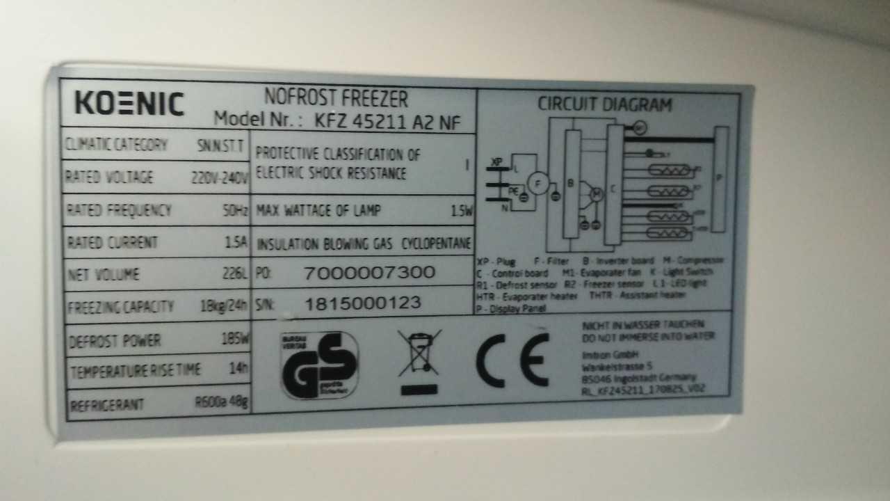 Как проверить вентилятор на морозильной камере?