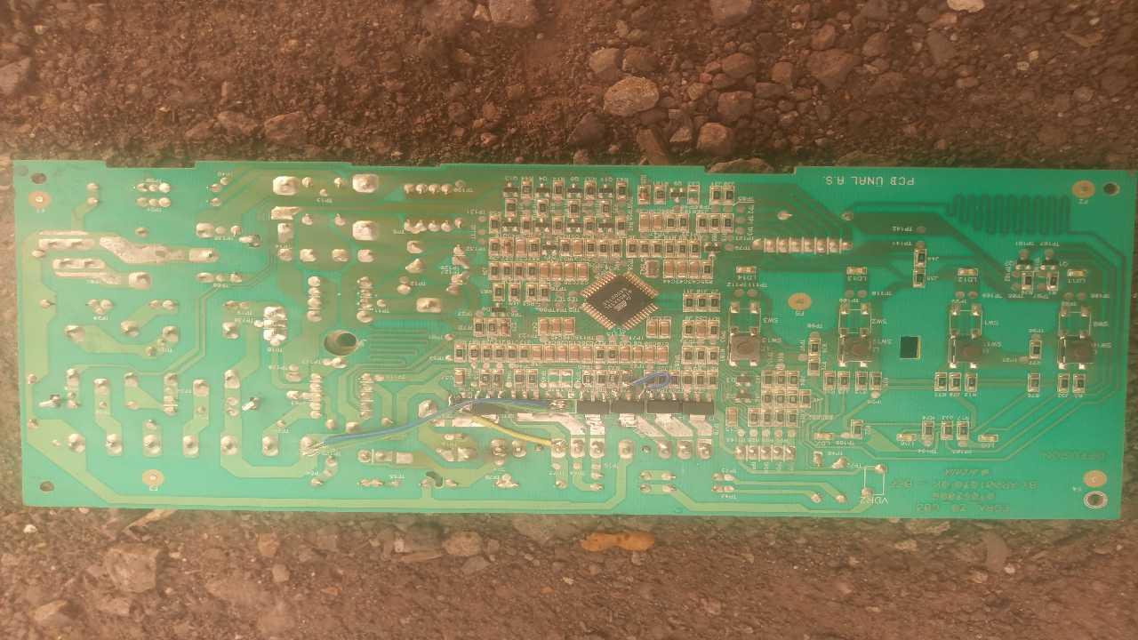 Стиралка Beko WML 15080DL нет питания микроконтроллера!