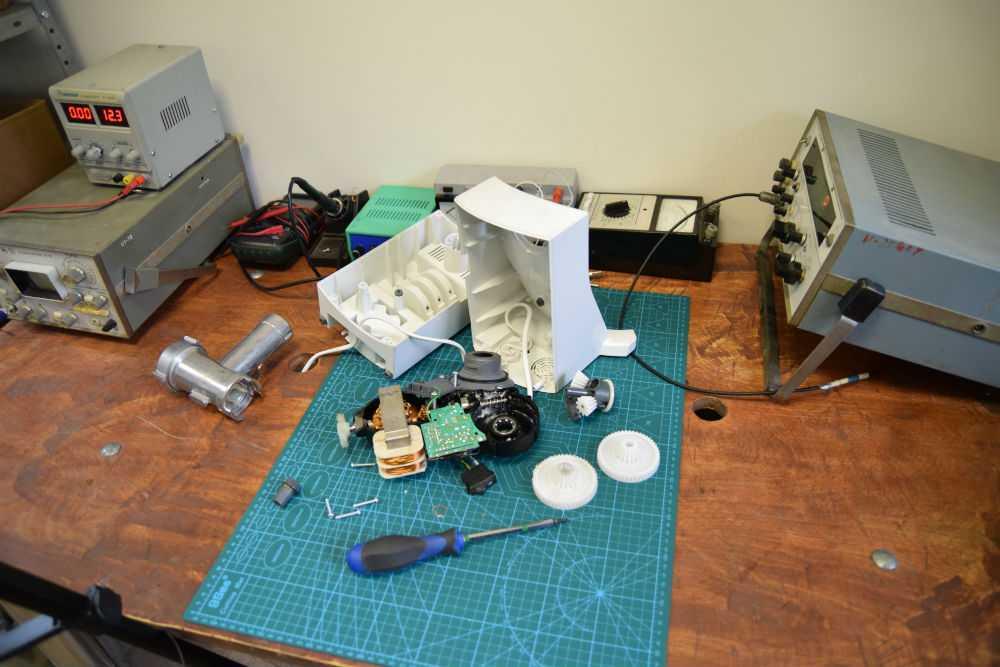 Замена шестерни и втулки мясорубки Bosch