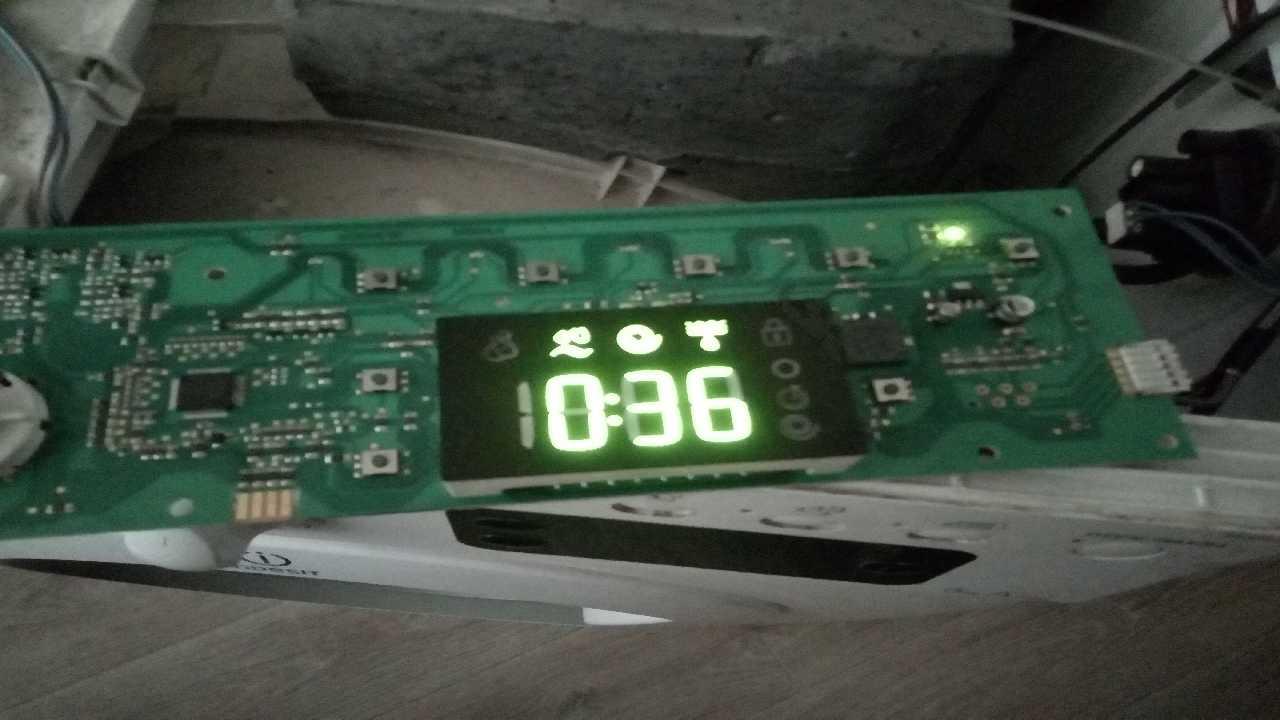 Indesit IWSE 6105 B (CIS).L Подскажите что это за ошибка?