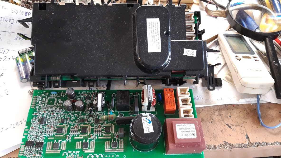AEG 59880 сушилка, модуль управления двигателем.
