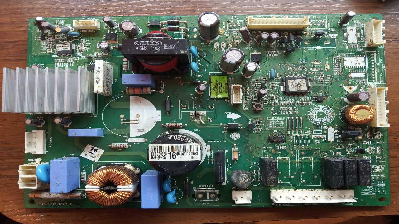LG холодильник инвертор LG GN-C272SLCN схему не нашел
