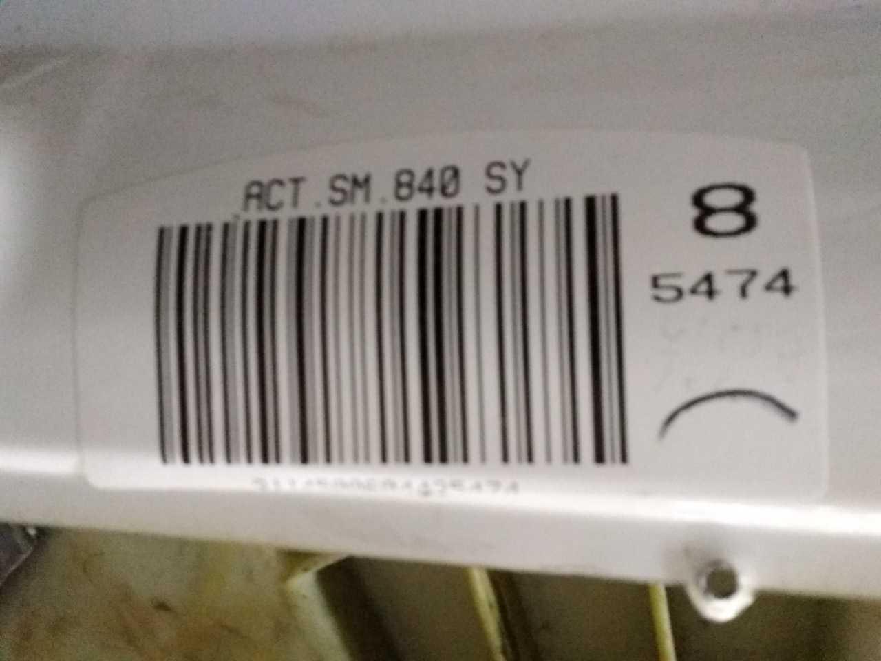 Переделка стиральной машины Candy SM840 под бак.