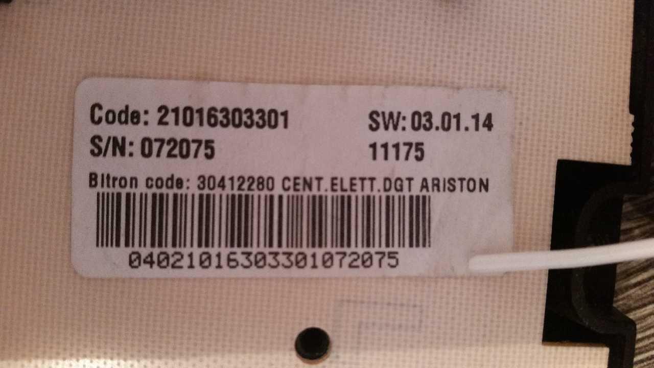 Продам блок управления СМА Ariston ARSF 105