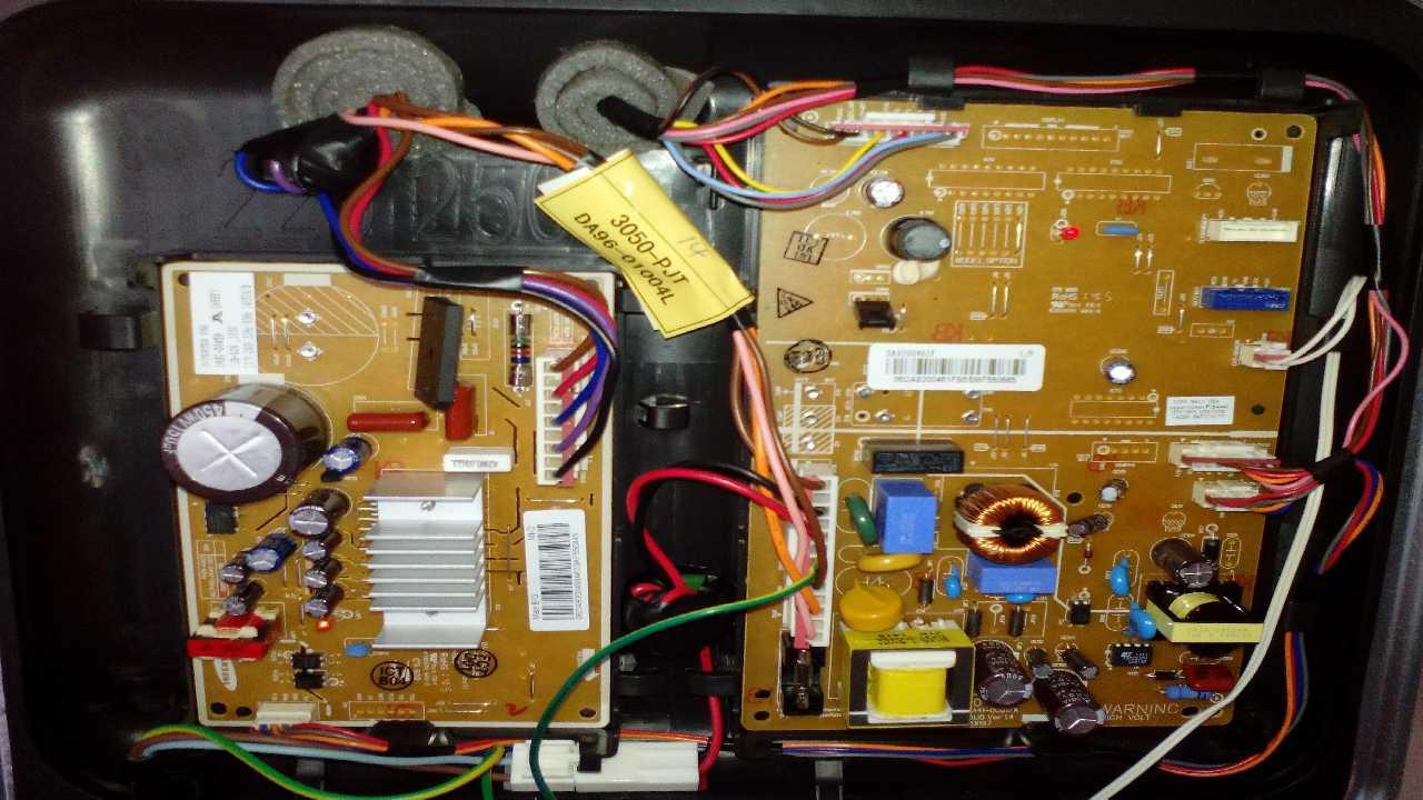 Сигнальные коды холодильника Samsung RT22HAR4DWW