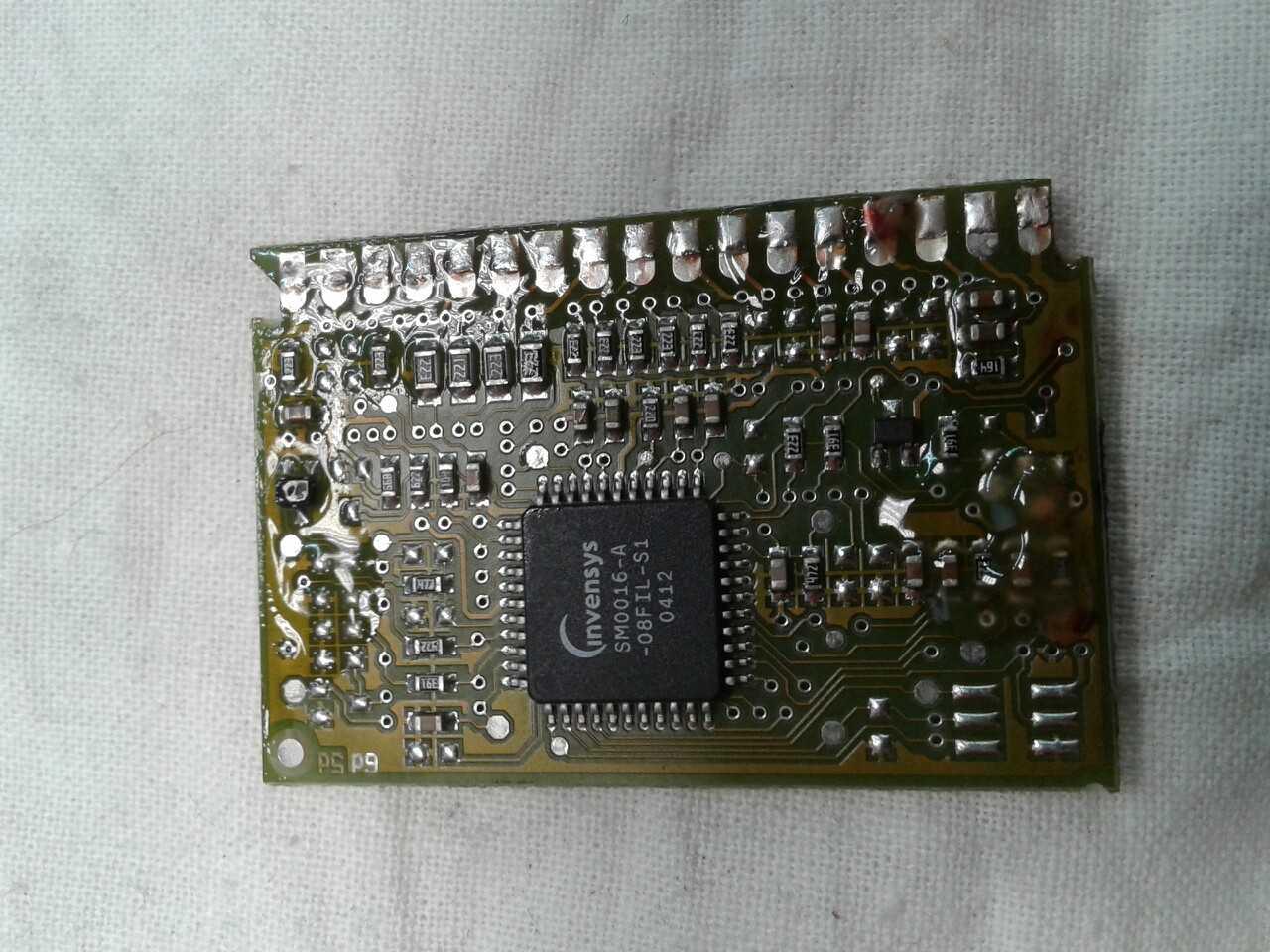 Замена или перепрошивка микроконтроллера Invensys.