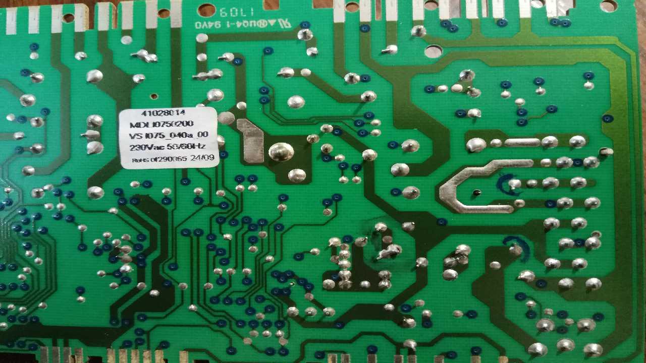 Помогите распознать резистор. Candy GO W264D
