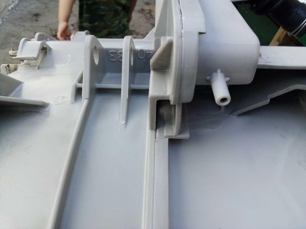 Помогите с распилом бака стиральной машины