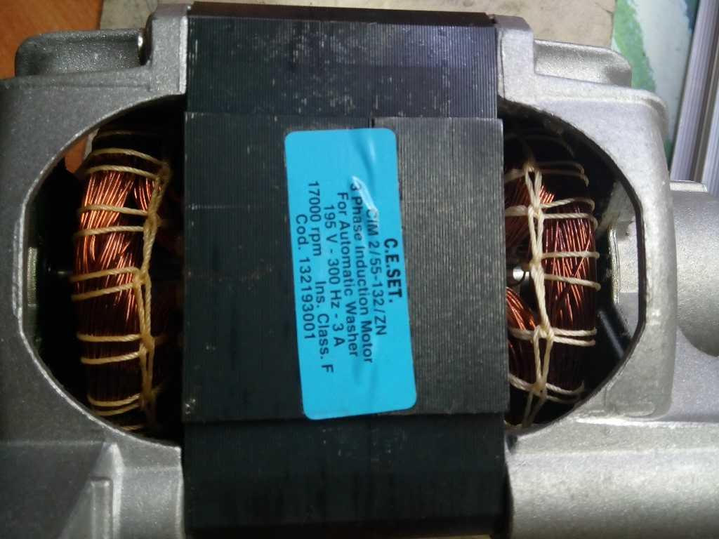 СМА AEG 1820LL повторный ремонт ошибка E57